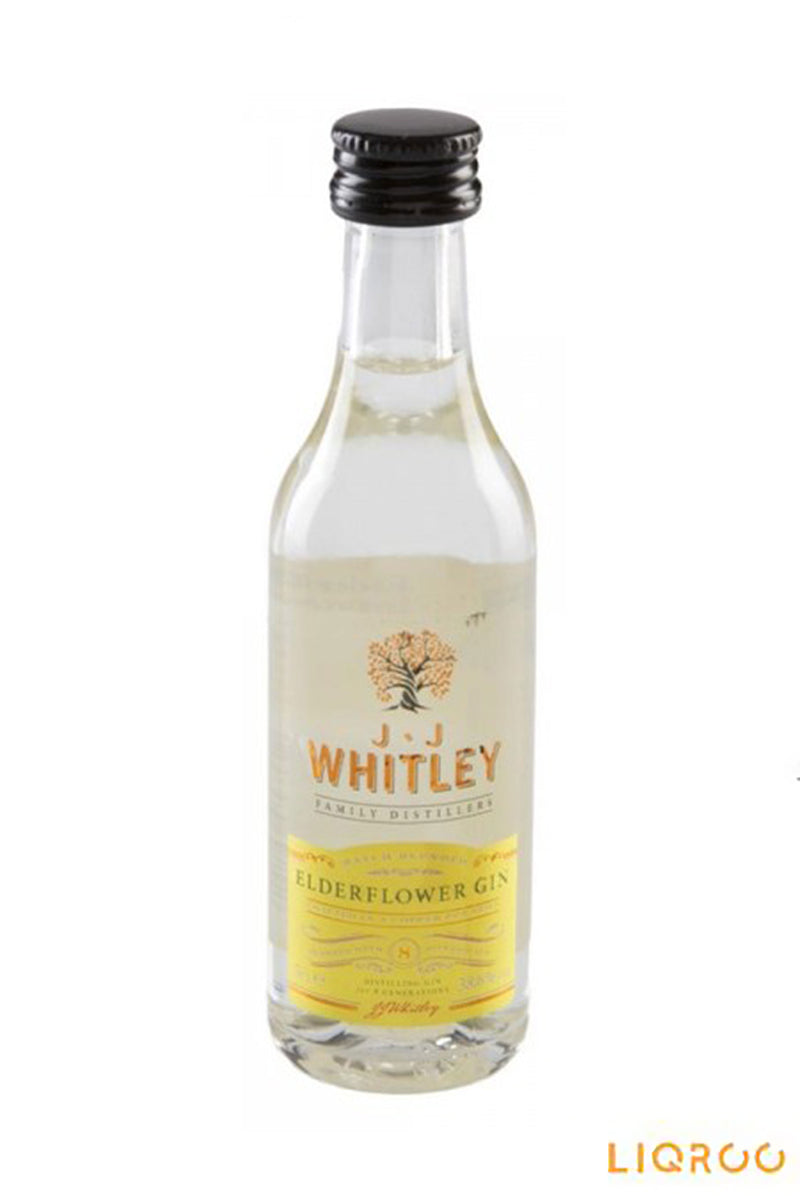 JJ Whitley Elderflower Gin Miniatures