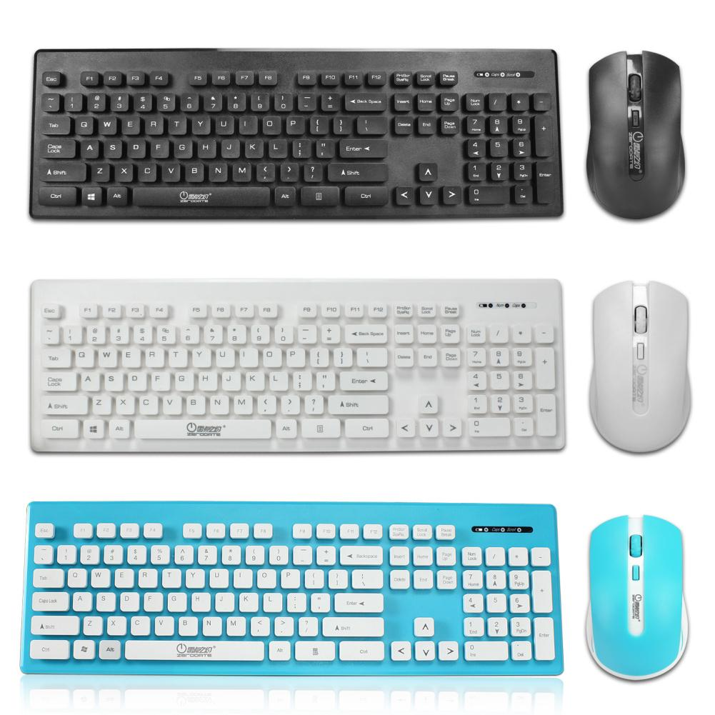 2.4G Wireless Ergonomic Keyboard Mouse Set Combo for Home Office PC Laptop - M&Y CARE LLC-Healthcare Store