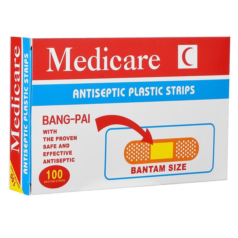 Anti-Bacterial Adhesive Bandages - M&Y CARE LLC-Healthcare Store