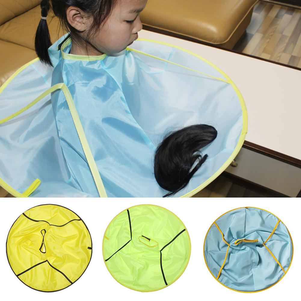 Children Kids Waterproof Haircut Catcher Apron Cape Umbrella Hairdresser Tool - M&Y CARE LLC-Healthcare Store