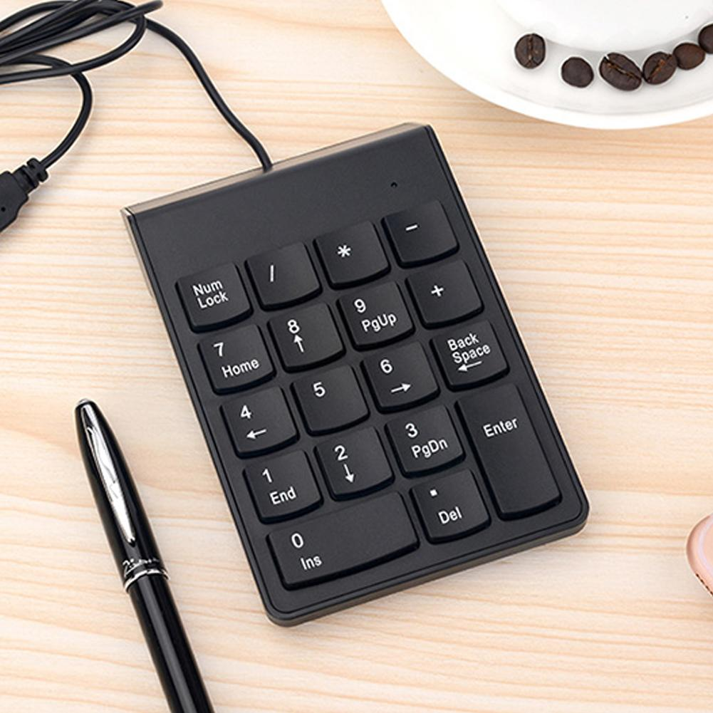 18 Keys Mini USB Wired Numeric Keypad Keyboard Numpad for PC Laptop Computer - M&Y CARE LLC-Healthcare Store