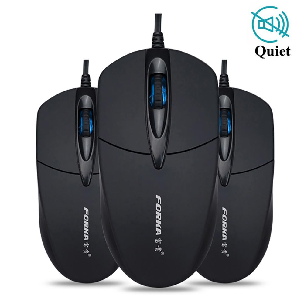 V9 Ergonomic Silent Click 1200DPI 3 Buttons Optical Office Home USB Wired Mouse - M&Y CARE LLC-Healthcare Store