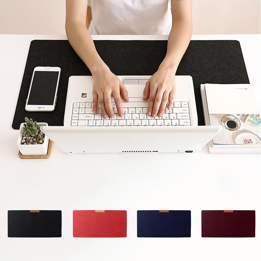 Multi-Functional Large Felt Gaming Mouse Pad Office Desk Laptop Keyboard Mat - M&Y CARE LLC-Healthcare Store