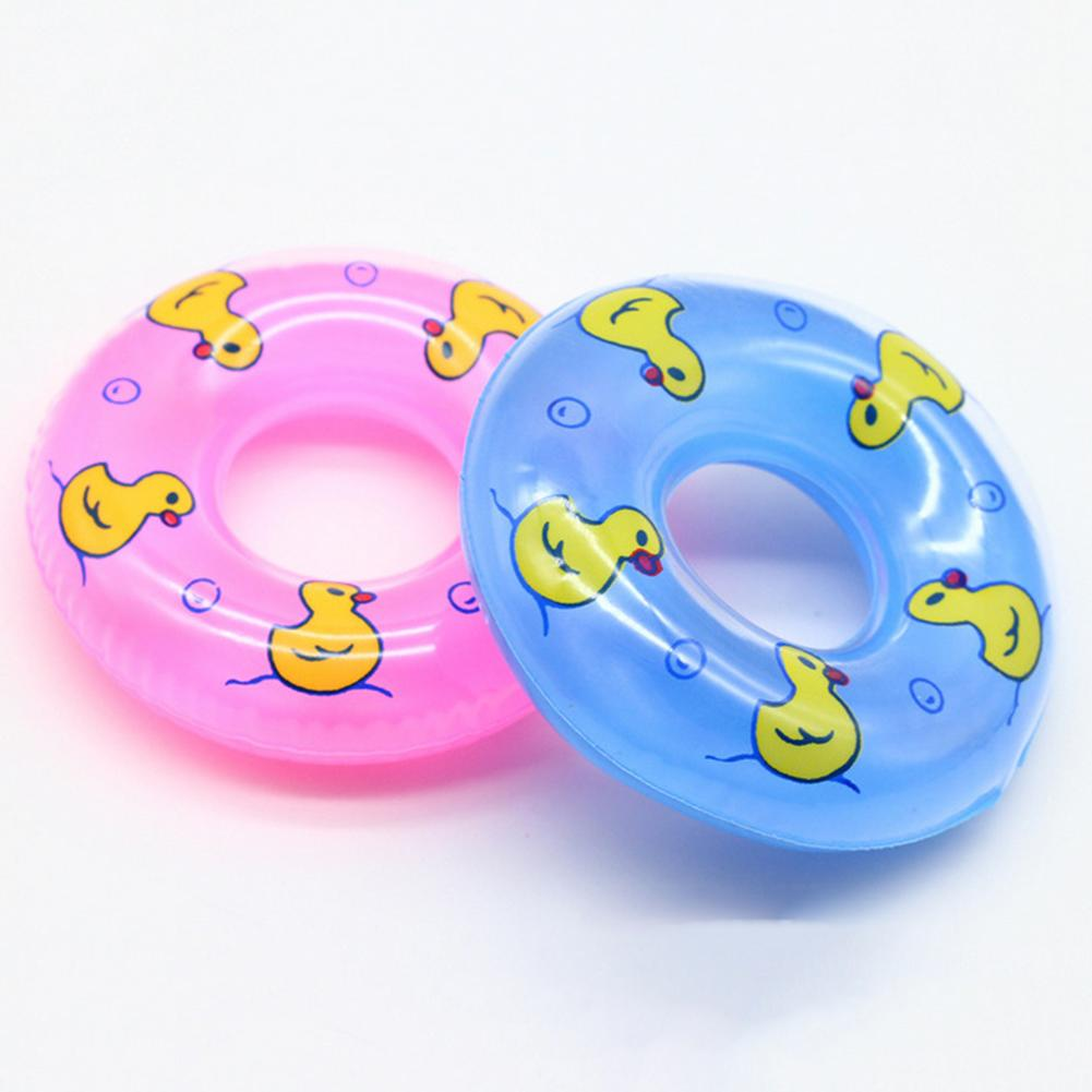 Cute Mini Doll Swimming Buoy Lifebuoy Life Ring for Barbie Girl Toy Accessory - M&Y CARE LLC-Healthcare Store