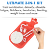 Pivit Douche Enema Kit Reusable Hot Water Bottle Bag Home Colonic Irrigation Set