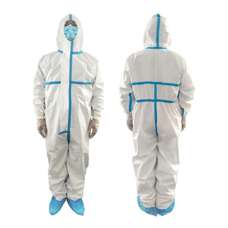 Disposable PPE isolation suit