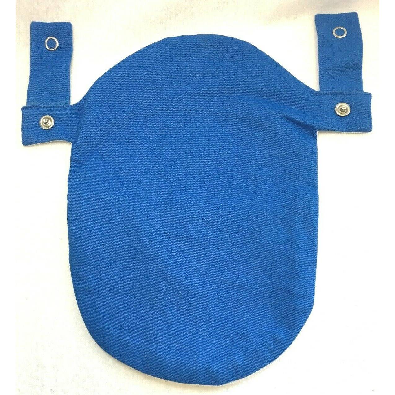 Blue Ostomy Colostomy Urostomy Pouch Bag Fastomy Cover Convatec & Hollister