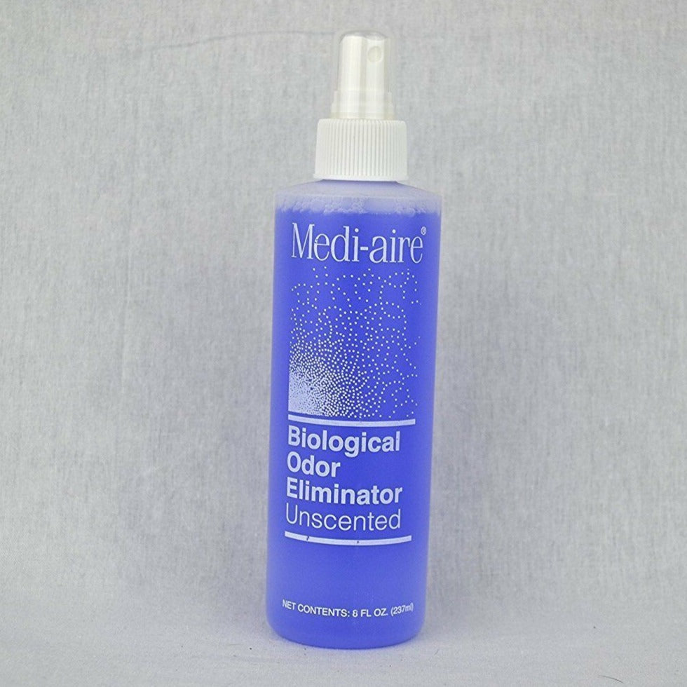 Medi-Aire Biological Odor Eliminator Spray Bottle - Unscented - 8 oz Spray Bottle