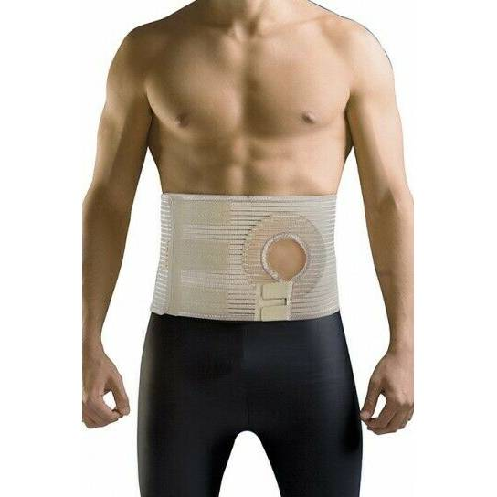 URIEL Ostomy Abdominal Belt for Post-Operative Colostomy or Ileostomy Surgery