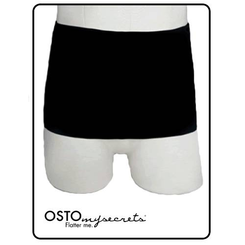 Large-Convatec Ostomy Secrets Black Classic Wrap-Stoma-Ost