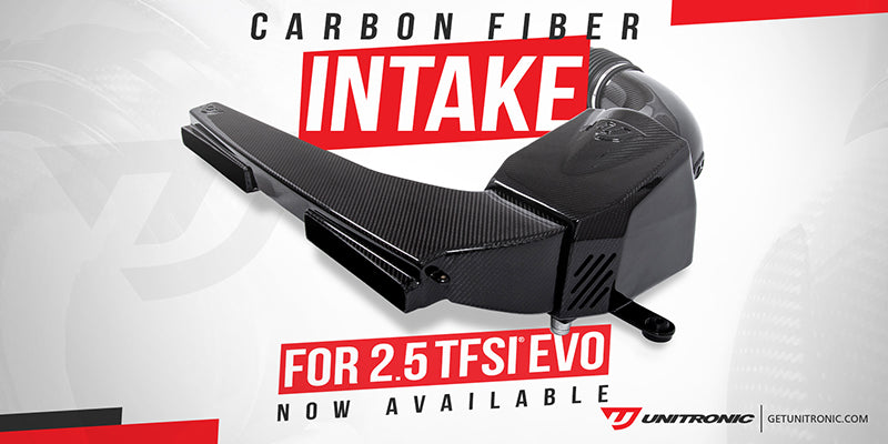 Unitronic Carbon Fiber Intake System for the 2.5TFSI EVO Now Available