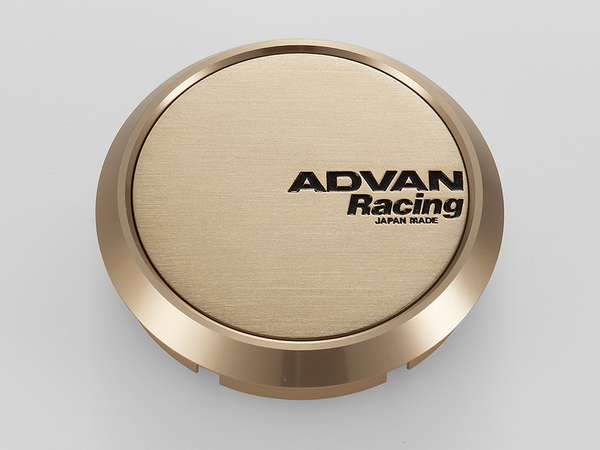 Advan 63mm Flat Centercap - Bronze Alumite