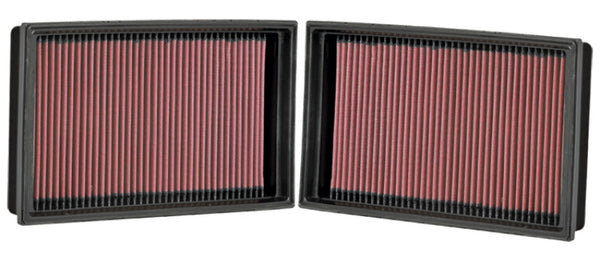 K&N Replacement Air Filter BMW 750/760 SERIES 4.8L-V8/6.0L-V12; 07-08 (2 PER BOX)