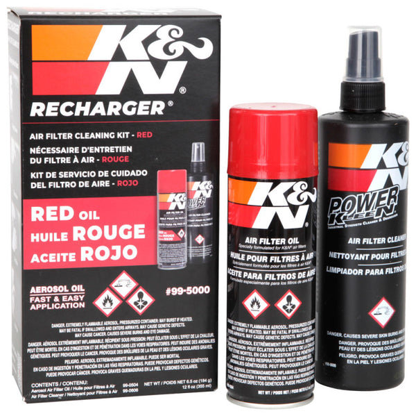 K&N Aerosol Oil Recharger Service Kit