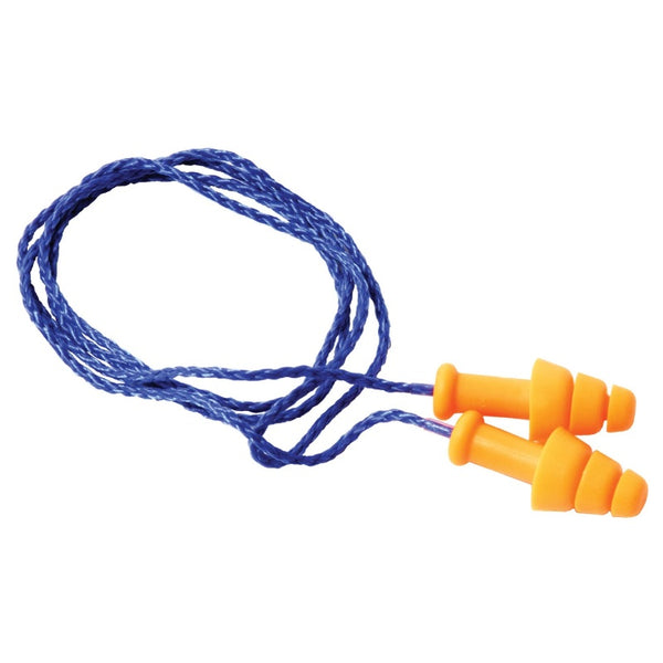 DEI Safety Products Ear Plugs - w/ Removable Cord