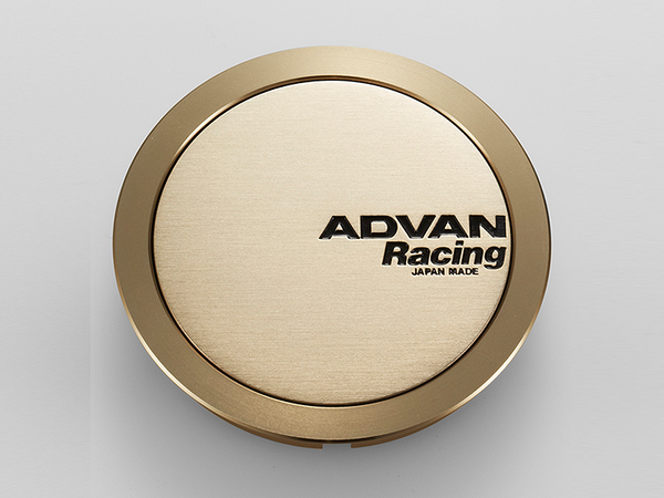 Advan 63mm Full Flat Centercap - Bronze Alumite