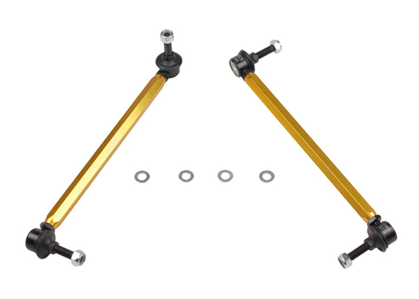 Whiteline 02-06 R53 & 06+ R56 Mini Cooper S  Front Swaybar link kit-adjustable ball end links