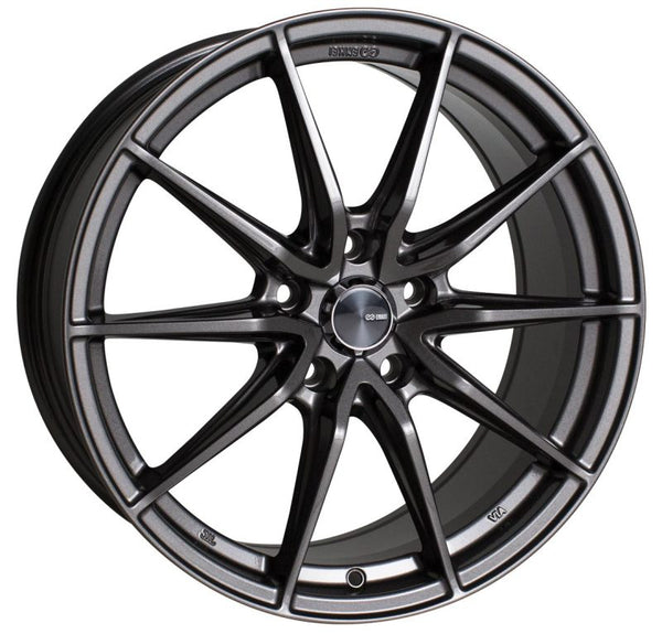 Enkei DRACO 18x8.0 5x112 45mm Offset 72.6mm Bore Anthracite Wheel