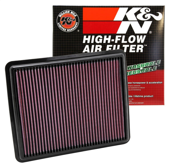 K&N Replacement Air Filter 10-12 Hyundai Santa Fe/Kia Sorrento / 11-12 Hyundai Sonata/Kia Optima