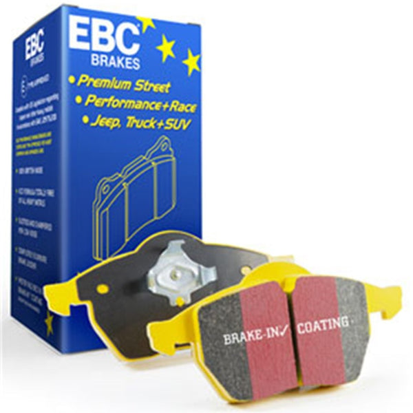 EBC 92-93 Porsche 911 (964) 3.6 Carrera RS America Yellowstuff Front Brake Pads
