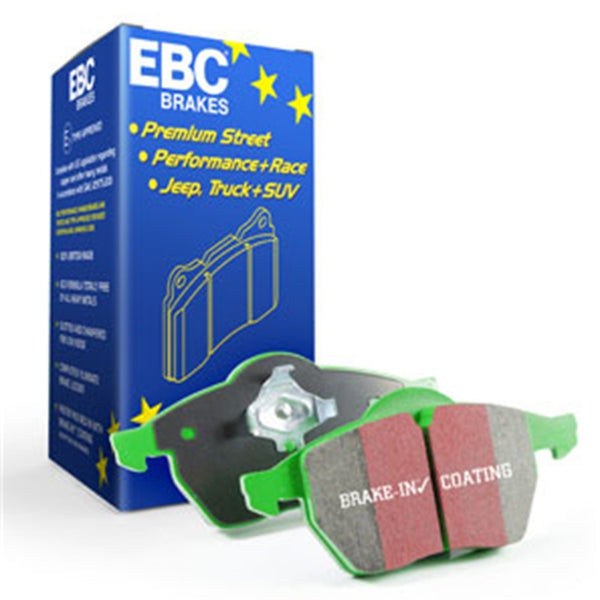 EBC 11+ BMW 528 2.0 Turbo (F10) Greenstuff Front Brake Pads