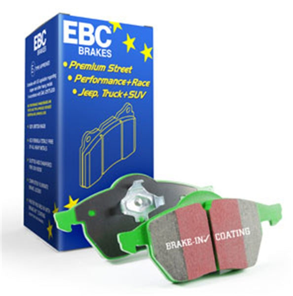 EBC 76-79 Mercedes-Benz 230 Greenstuff Front Brake Pads