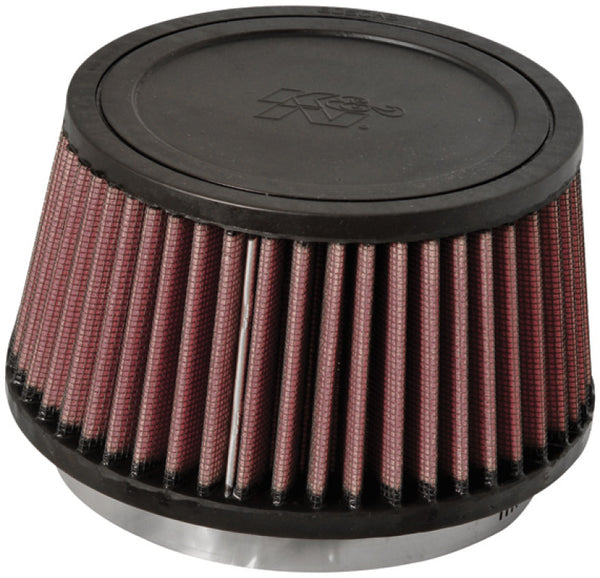 K&N Universal Rubber Filter Round Tapered 4.5in Flange ID x 5.875 Base OD x 5in Top OD x 3.25in H