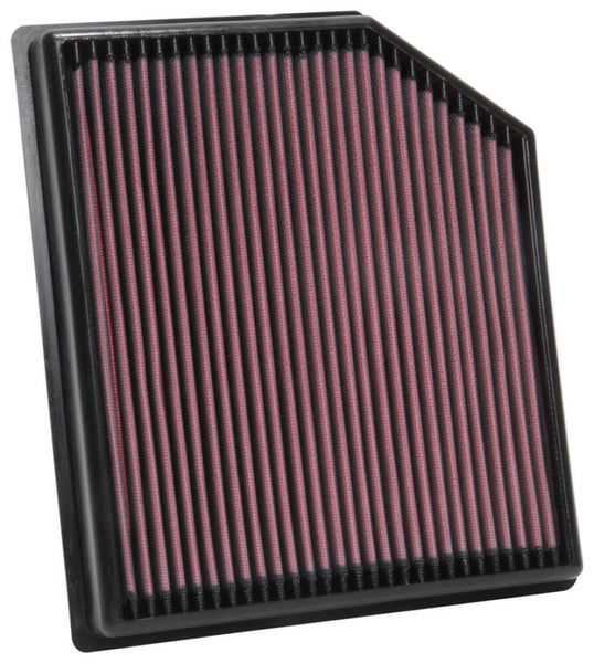 K&N 2018 Jeep Grand Cherokee V8-6.2L F/I Replacement Drop In Air Filter