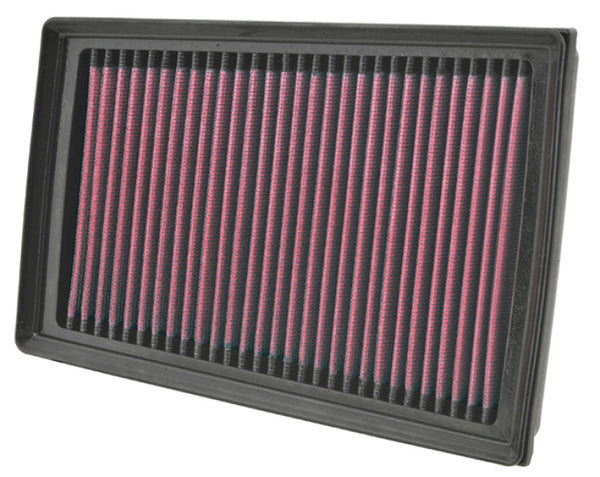 K&N 07-11 Nissan 1.125in H x 9.063in L x 6.438in W Replacement Air Filter