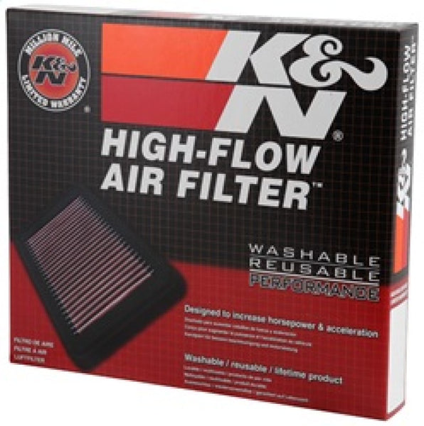 K&N Replacement Air Filter for Fiat / Opel / Vauxhall / Alfa Romeo 8in O/S L x 8.313in O/S W x 1in H