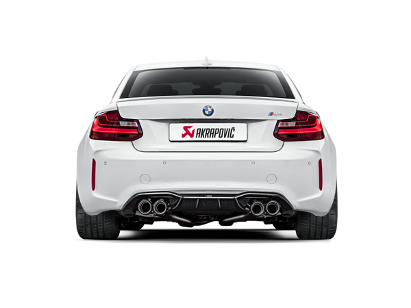 Akrapovic 16-17 BMW M2 F87 (Excl M2 Competition) Evolution Line Cat Back (Titanium) w/Carbon Tips