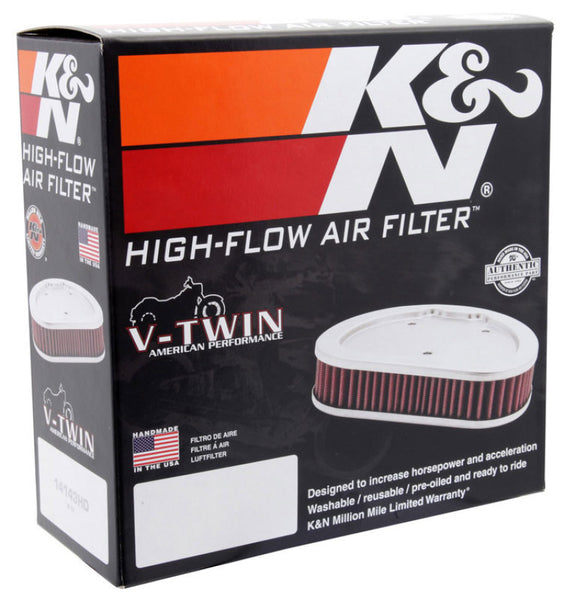 K&N Universal 7in OD / 5in ID / 1.938in H Round Replacement Air Filter