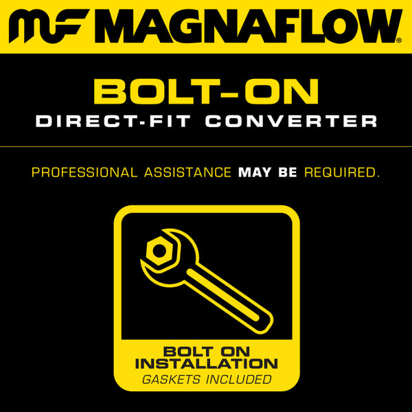 MagnaFlow 2002-2008 Porsche 911 Series Direct Fit Federal Driver Side Catalytic Converter