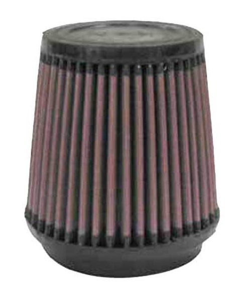 K&N Filter Universal Rubber Filter 3 1/2 inch Flange 4 5/8 inch Base 3 1/2 inch Top 4 1/2 inch Heigh