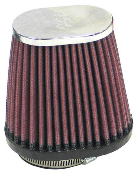K&N Universal Clamp-On Air Filter / 2-1/8in O/S