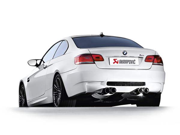 Akrapovic 07-13 BMW M3 (E92 / E93) / 08-13 E90 M3 Sedan Slip-On Line (Titanium) (Req. Tips)