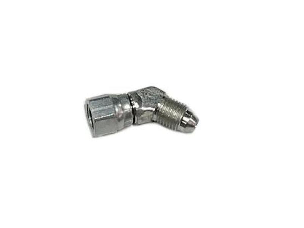 ATP #4 AN Flare Male to Female 45D Swivel Fitting