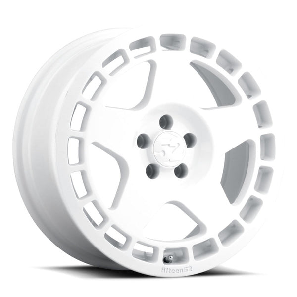 fifteen52 Turbomac 17x7.5 5x112 40mm ET 66.56mm Center Bore Rally White Wheel