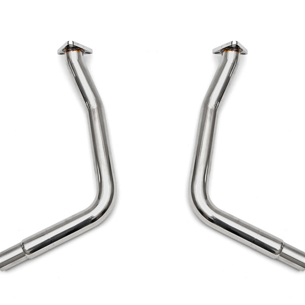 Fabpseed Porsche 986 Boxster Primary Cat Bypass Pipes (1997-1999)