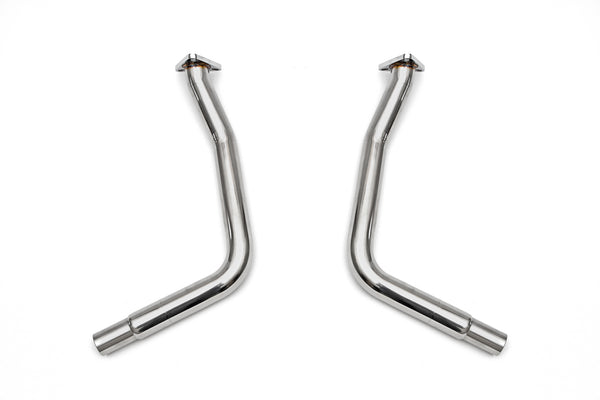 Fabpseed Porsche 986 Boxster Secondary Cat Bypass Pipes (2000-2004)