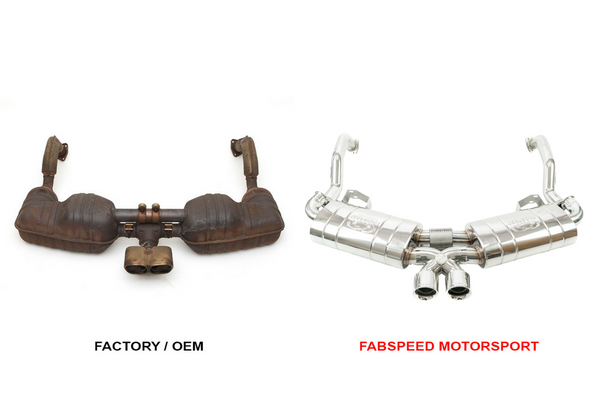 Fabpseed Porsche 987 Boxster / Cayman Maxflo Performance Exhaust System (2005-2008)
