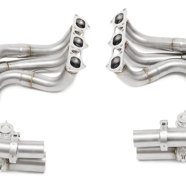 Fabpseed Porsche 997.2 GT3 / GT3 RS Long Tube Competition Race Header System (2010-2011)