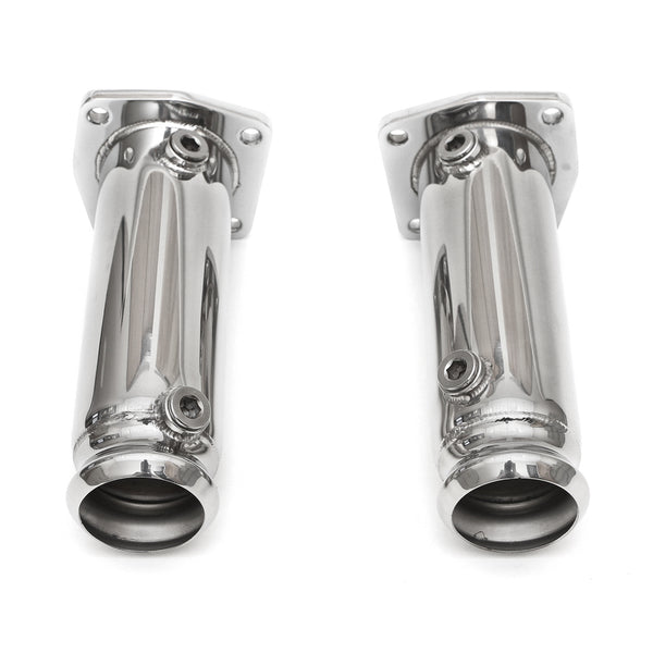 Fabpseed Porsche 996 Turbo Cat Bypass Pipes (2000-2005)
