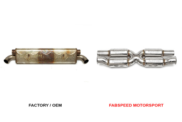 Fabpseed Porsche 997.2 Turbo / Turbo S Supersport X-Pipe (X-Pipe Only) (2010-2012)