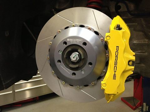 Fabpseed Porsche 997 GT3 / GT3 RS GiroDisc Upgraded Brake Rotors