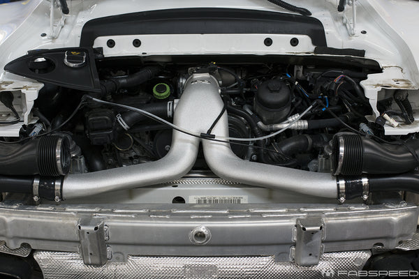 Fabpseed Porsche 991.2 Turbo IPD Plenum & Y-Pipe Upgrades (2017+)