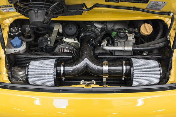 Fabpseed Porsche 996 GT3 Carbon Fiber Competition Air Intake