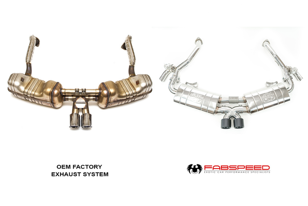 Fabpseed Porsche 987 Boxster / Cayman TrackTec Valved Bypass Exhaust System (2005-2008)