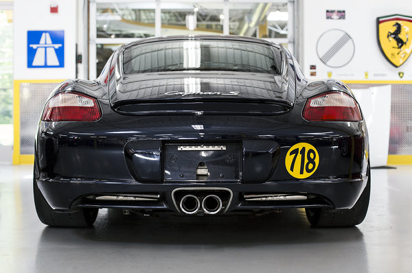 Fabpseed Porsche 987 Boxster / Cayman Supercup Race Exhaust System (2005-2008)