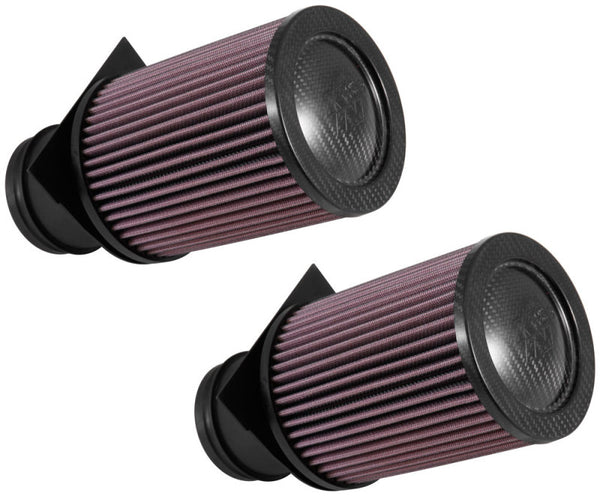 K&N 2014-2015 Audi R8 V10-5.2L F/I Drop In Air Filter (2 Per Box)